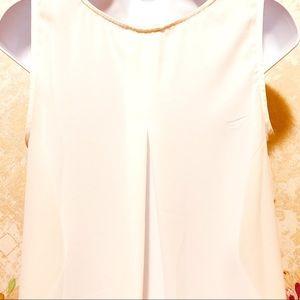 mélange posh Tops - Dressy Sleeveless V-Neck Shell/Top